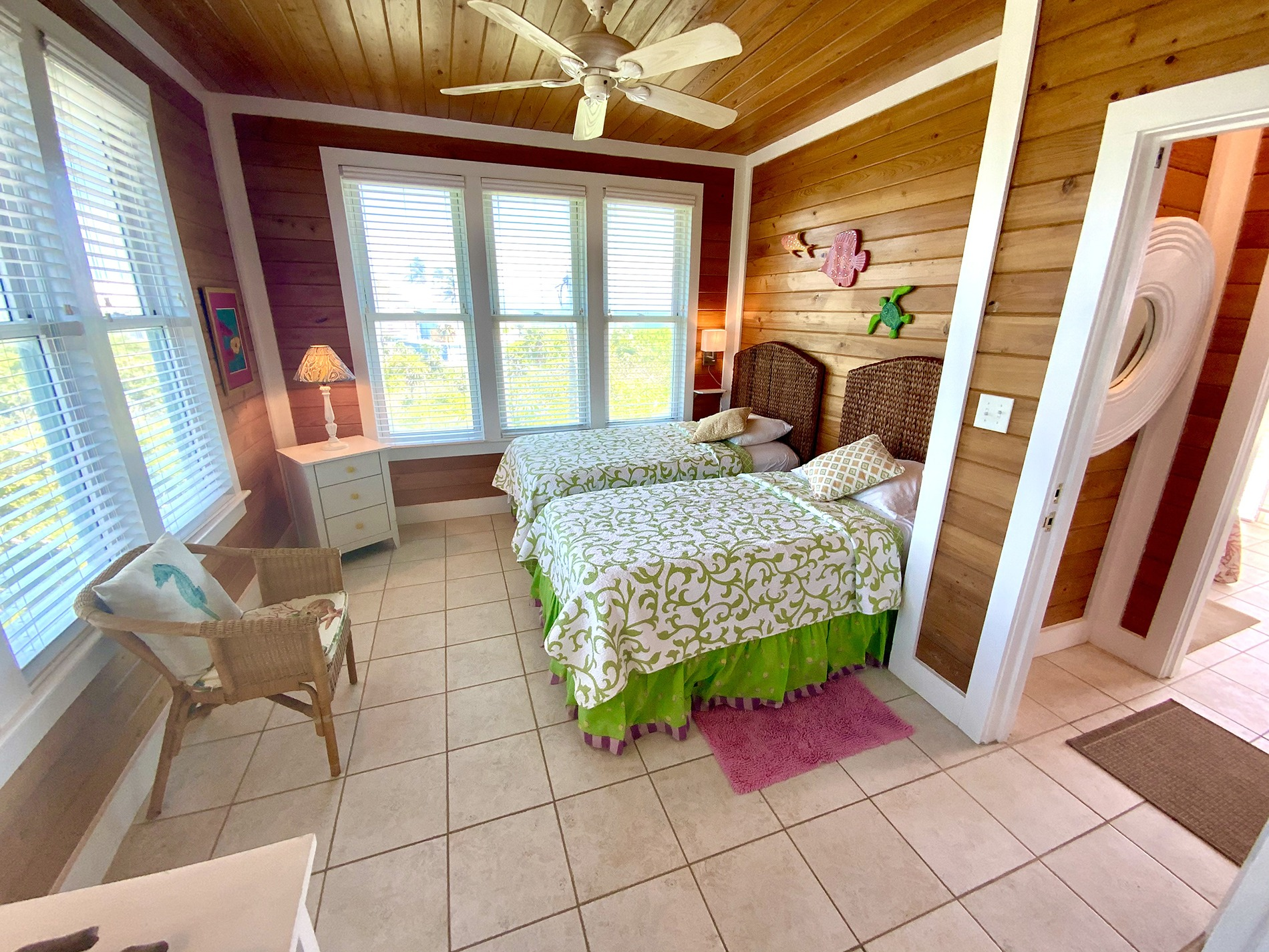 Northwest Twin Bedroom
